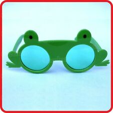 GREEN LEAPING FROG GLASSES SUNGLASSES-COSTUME-PARTY-DRESS UP-COSPLAY-FUNNY