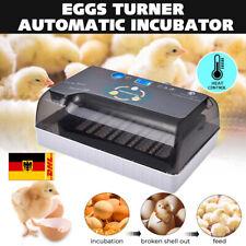 Vollautomatische Brutmaschine 12 Eier Brutapparat Flächenbrüter Brüter Inkubator