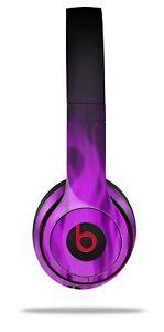 Skin Beats Solo 2 3 Fire Purple Wireless Headphones NOT INCLUDED