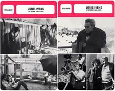 FICHE CINEMA x2 : JORIS IVENS DE 1928 A 1978 -  Pays-Bas (Biographie/Filmo)