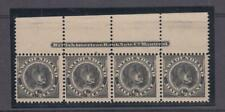 NEWFOUNDLAND # 58 MNH WITH INSCRIPTION 1/2cts NFLD DOG(MH IN SELVEDGE) CV $240