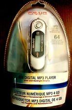MP3 Player Craig Silver 4 GB Digital Media Player Silver