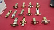 Assorted Deadlatches & Bolts, set of 13 - US Lock, Weiser, S Parker Locksmith