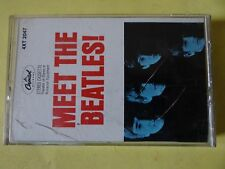 Meet the Beatles! by The Beatles (Cassette, Aug-1988, Capitol)