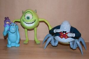 Monster Inc. Sully Boo Mike Henry Waternoose 2002 2004 McDonald's Figures Toys