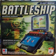 2005 Electronic Battleship Advanced Mission Game - Complete -Tested Working