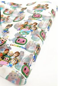 """GORGEOUS """"CO'MELON"""" JELLY TRANSPARENT FABRIC SHEET..HAIR BOWS"""