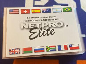 2003 NETPRO Elite Event Edition Collectors 21 Card Partial Set + Anna Kournikova