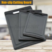 Wheat Straw Chopping Boards Non Slip Cutting Boards Chop Serving Set for Kitche