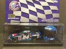 NASCAR ACTION JEFF GORDON 1999 PEPSI 1:32 CAR/1:4 HELMET SET (1 OF 12000)