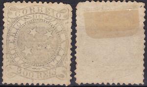 Brazil 1884 300 Reis Mi-63 Mint Hinged - US Seller