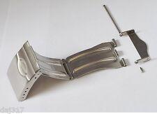 """20 mm de ancho """"Z"""" Broche De Acero Inoxidable Reloj Pulsera, de 20 mm de implementación, Condor"""