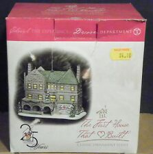 1999 Dept 56 The First House That Love Built  25 YRS~THE RONALD McDONALD HOUSE