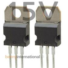 4x 15V VOLTAGE REGULATOR POSITIVE 1.5A TO220 L7815CV 7815 Arduino - AUS STOCK