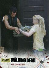 Walking Dead Season 4 Part 1 Black Foil Base Card #54 The Good Stuff