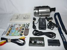 Sony Handycam CCD-TRV615 8mm Video8 HI8 Camcorder Player Stereo Video Transfer