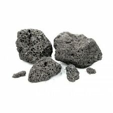 5KG  BLACK LAVA ROCK NATURAL AQUARIUM DECORATION TROPICAL, AQUASCAPING MALAWI