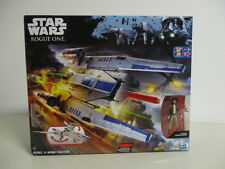 STAR WARS ROGUE ONE REBEL U WING FIGHTER with CAPTAIN CASSIAN ANDOR hasbro B7101