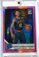 2019-20 Panini Donruss Optic Rated Rookie Hyper Pink De'Andre Hunter RC #198