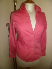 Paul Smith Women Stunning Pink 100% Cotton Fitted Shirt I 38,UK 6 Worn Once