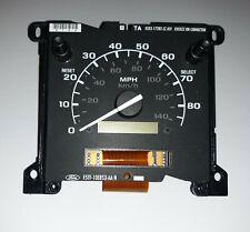 Chrome Gauge Cluster Dash Bezel Trim fits 92-97 Ford F-250 w//Tach Manual