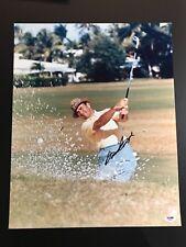 Sam Snead Signed 16x20 Photo HOF PGA Masters Open PSA DNA