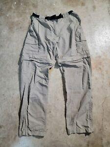 Magellan Water Repellent Fishing Zip Off Cargo Pants Size Men's Large