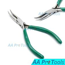 Bent Nose Mini Stainless Steel Pliers, Jewellery Making, Hobby Tools