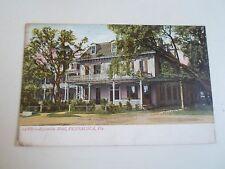 Rare Vintage Postcard Escambia Hotel, Pensacola Florida From Sailor SS Stag 1909