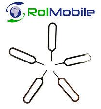 Herramienta Pincho Extractor Bandeja Tarjeta SIM iPhone bq LG Samsung 5 Unidades