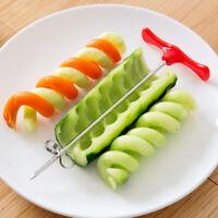 Gurke Rotary Cuter Spiral Spiralmesser Obst und Gemüse Twist Kn ji