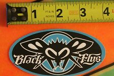 BLACK FLYS Sunglasses Shades Eyewear Skateboarding STICKER