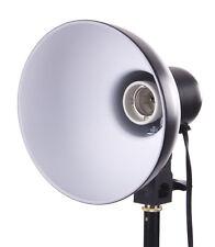 "Studio Lighting Reflector 6"" Photography Socket Mount Photo Light Modifier Focus"