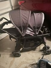 Graco Ready2Grow Click Connect Lx Gotham Standard Double Seat Stroller