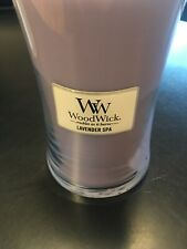 WoodWick 21.5 Oz. Large Hourglass PlusWick Scented Candle - Lavender Spa