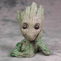 Guardians Of The Galaxy Vol. 2 Baby Groot Flowerpot Pen Pot Figure Gift Toy US