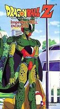 Dragon Ball Z - Imperfect Cell: Encounter (VHS, 2000, English Dubbed Uncut