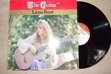 LIONA BOYD LP / THE GUITAR / CANADIAN BOOT DEBUT LP / RARE 1974 Master Series