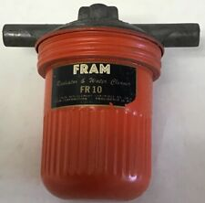 VINTAGE FRAM RADIATOR & WATER CLEANER FILTER FR10 NOS