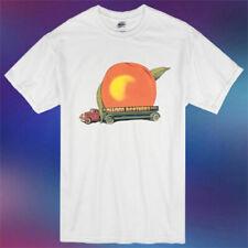 Allman Brother Eat A Peach Album Cover Logo Tshirt S-2Xl