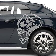 Aufkleber Totenkopf Tribal Skull Dekor Auto Autoaufkleber Sticker Tuning #1273