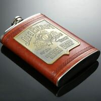 9oz Pocket Liquor Hip Flask Whiskey Alcohol Wine Flagon Drink Bottle Mens Gift
