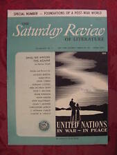 Saturday Review March 20 1943 NORMAN ANGELL JOHN CORBIN