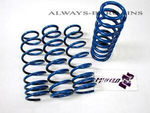 Manzo Lowering Springs Fits Honda Fit DX LX EX 2009-2014 ALL LS-HA02