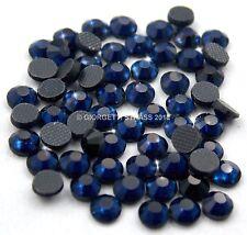 STRASS MC Stone collection 1000pz SS20 5mm Blu scuro Montana hotfix termoadesivi