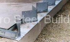 Duro Steel Arch Building 80' Metal Hand Welded Industrial Base Connector Plate