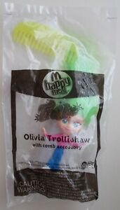 McDONALDS HAPPY MEAL TOY TROLLZ OLIVIA TROLLISHAW