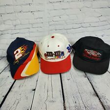 Lot Of 3 VTG Nascar Hats/ Darrell Waltrip/Rusty Wallace/ Erine Irvan
