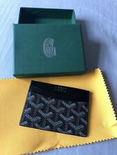 Black Goyard Card Holder