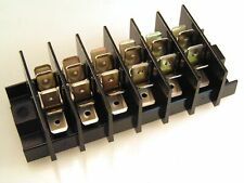 Weco Terminal Block 6 Barriered Poles Each With 6 Faston Tabs 25A 400V OM0444